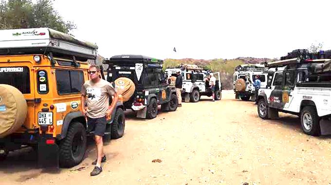 Zim, SA, Botswana Landrover tour attracts 70 world tourists