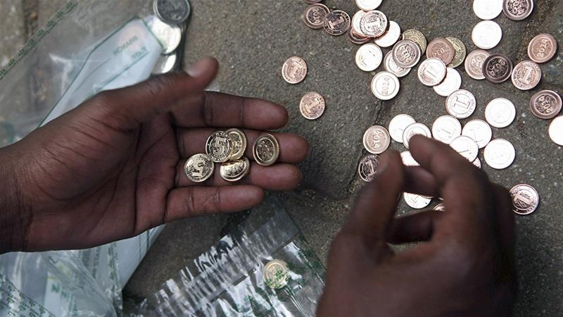 A staggering 96 percent of Zimbabwe's youth are believed to hold informal jobs [File: Philimon Bulawayo/Reuters]
