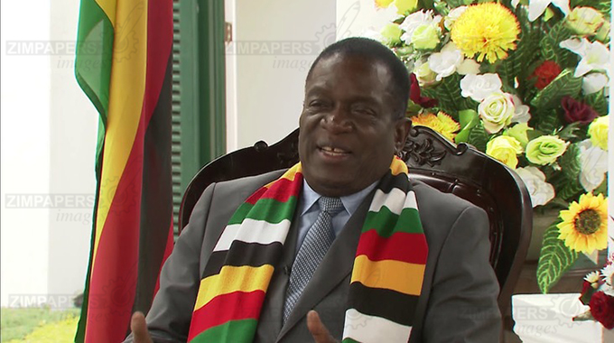 ED happy with US-Zim dialogue
