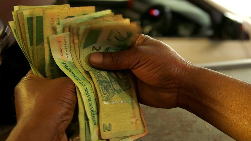 Zimbabwe is in the grips of a worsening economic crisis marked by soaring inflation, stagnant wages and shortages of fuel and other essentials [File: Philimon Bulawayo/Reuters]
