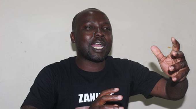Zanu-PF youths march in Cape Town