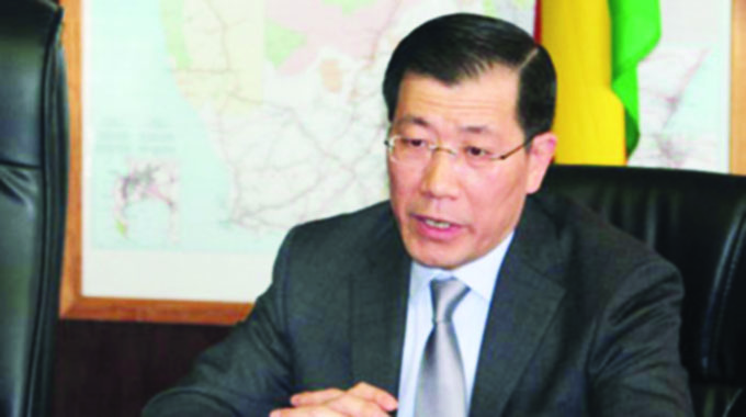 Zim sanctions must go: China