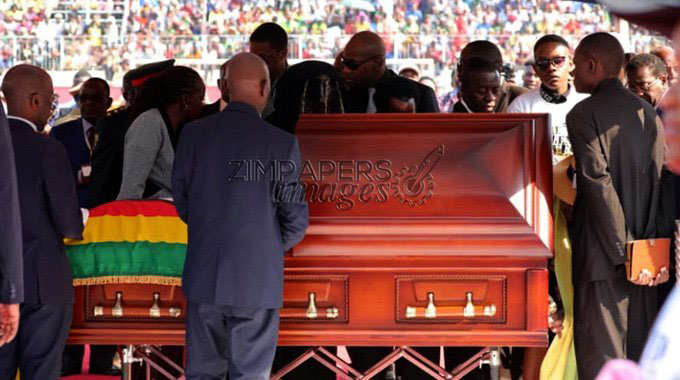 Mugabe family pays tribute to nation for sharing grief