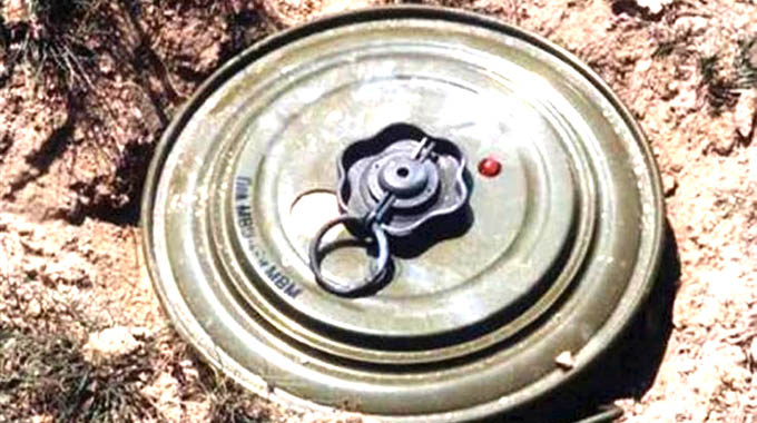 'Zim among countries with highest landmine density'