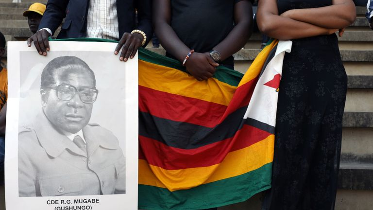 Mr Mugabe changed his mind about being buried at Hero's Acre