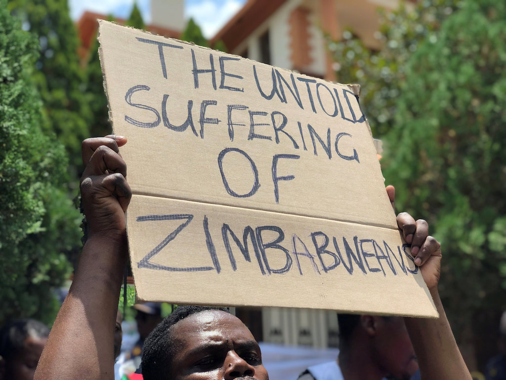 File: Anger among the population has mounted over triple-digit inflation, rolling power cuts and shortages of USdollars, fuel and bread.