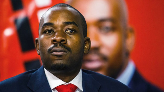 Zim now a police State – Chamisa