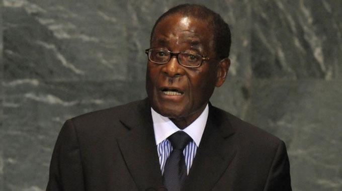 Parly honours Mugabe