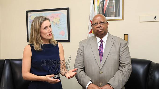 JUST IN: Britain ready to work with Zim, Envoy