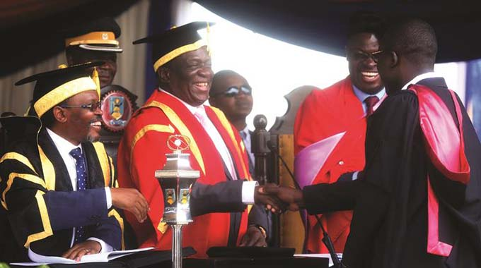ED challenges graduates to modernise Zim industry