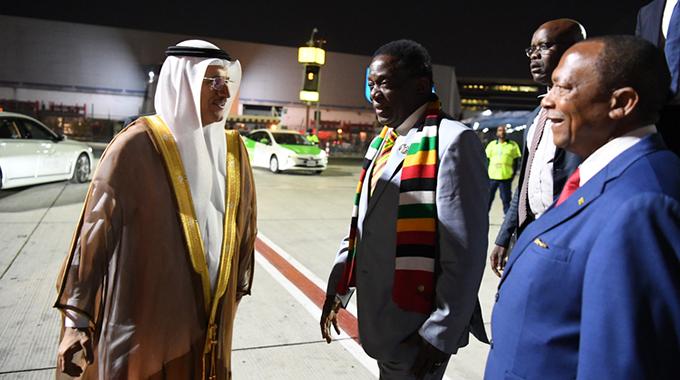 President courts Dubai investors