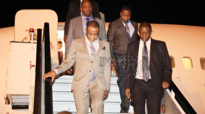 VP Chiwenga back home