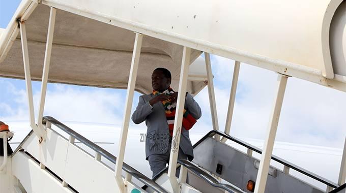 JUST IN: President leaves for Dubai