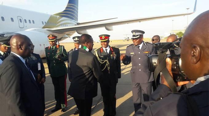 . . . ED in Botswana for Masisi inauguration