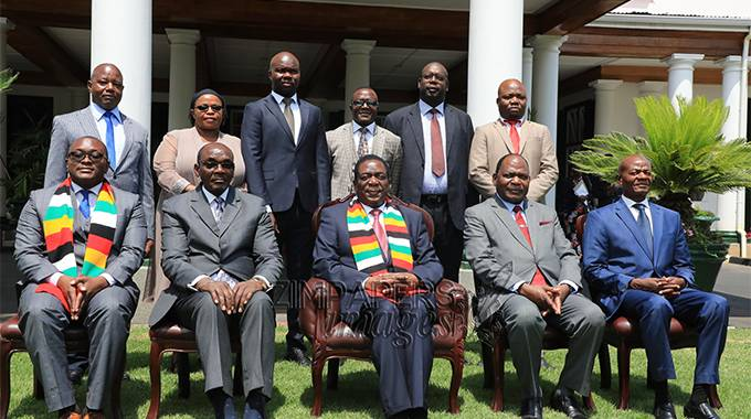 JUST IN: Ministers sworn in