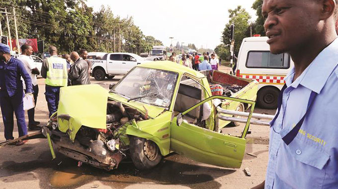 Nine perish in road accidents