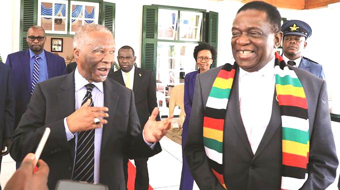 Mbeki meets ED, Chamisa