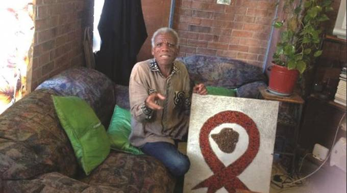 Scarred but unbowed by HIV