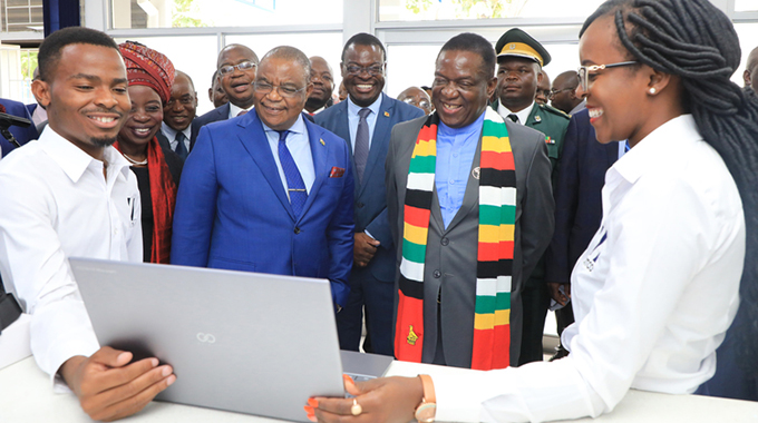 Zim gets first computer plant