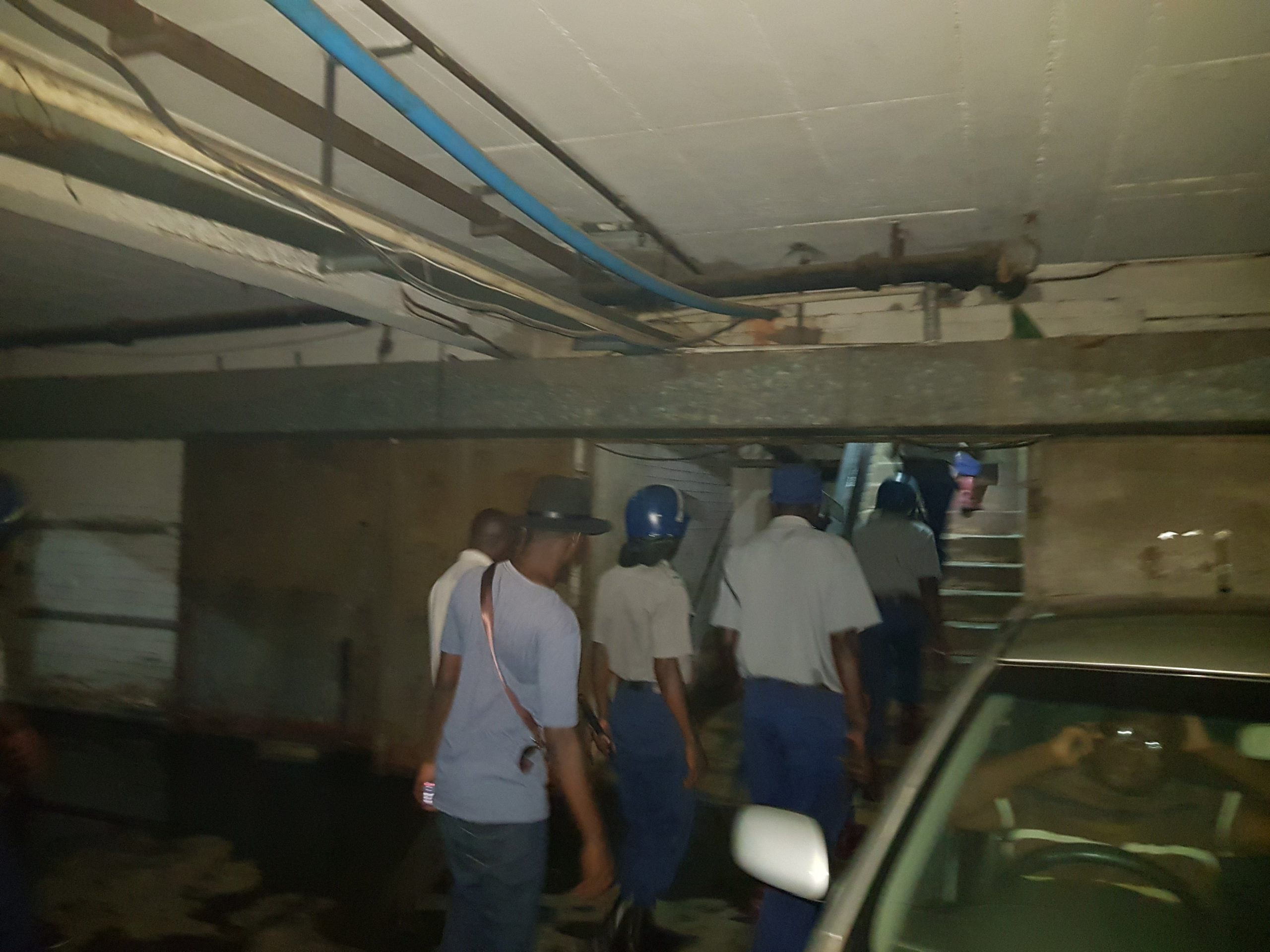Police raid MDC headquarters