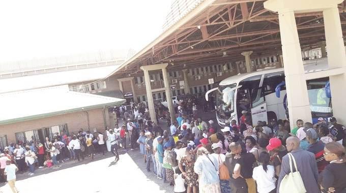 Congestion reigns at B/bridge border