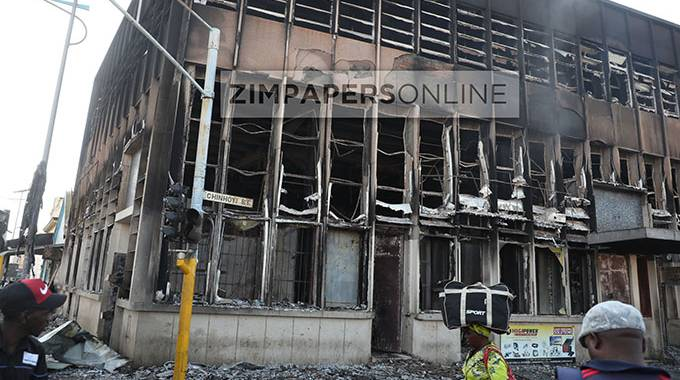 Inferno destroys property, goods in CBD