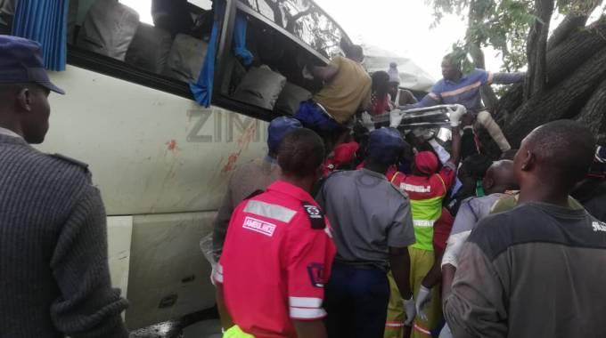 Seven die in Kwekwe bus accident