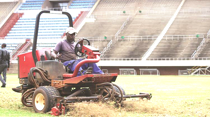 Govt starts stadiums renovations