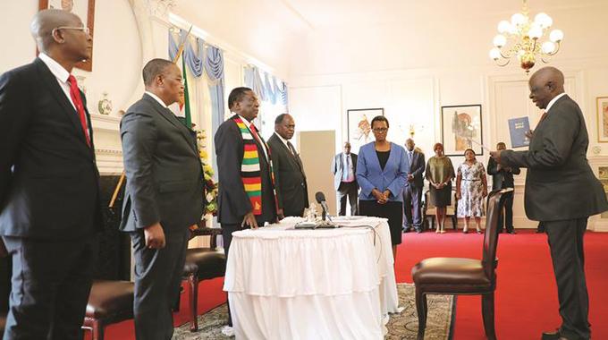 Tribunal to probe Justice Bere sworn in