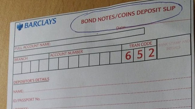 Banks reject hard copy transactions