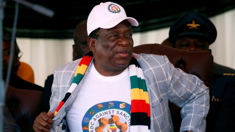 Mnangagwa had announced a 21-day lockdown on March 30 in a bid to contain the spread of the coronavirus [File: Philimon Bulawayo/Reuters]
