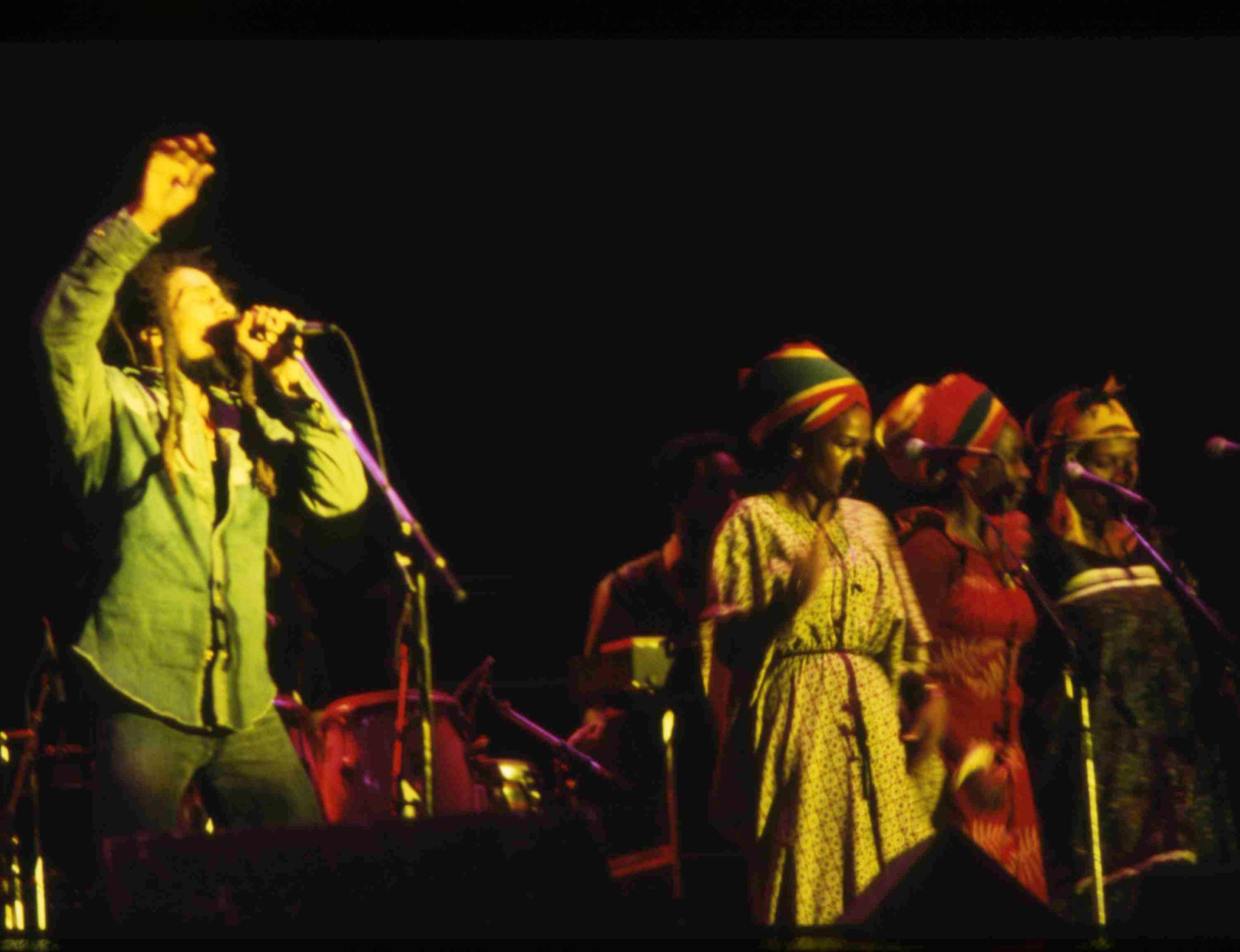 Bob Marley paid his way to play Zimbabwe independence concert