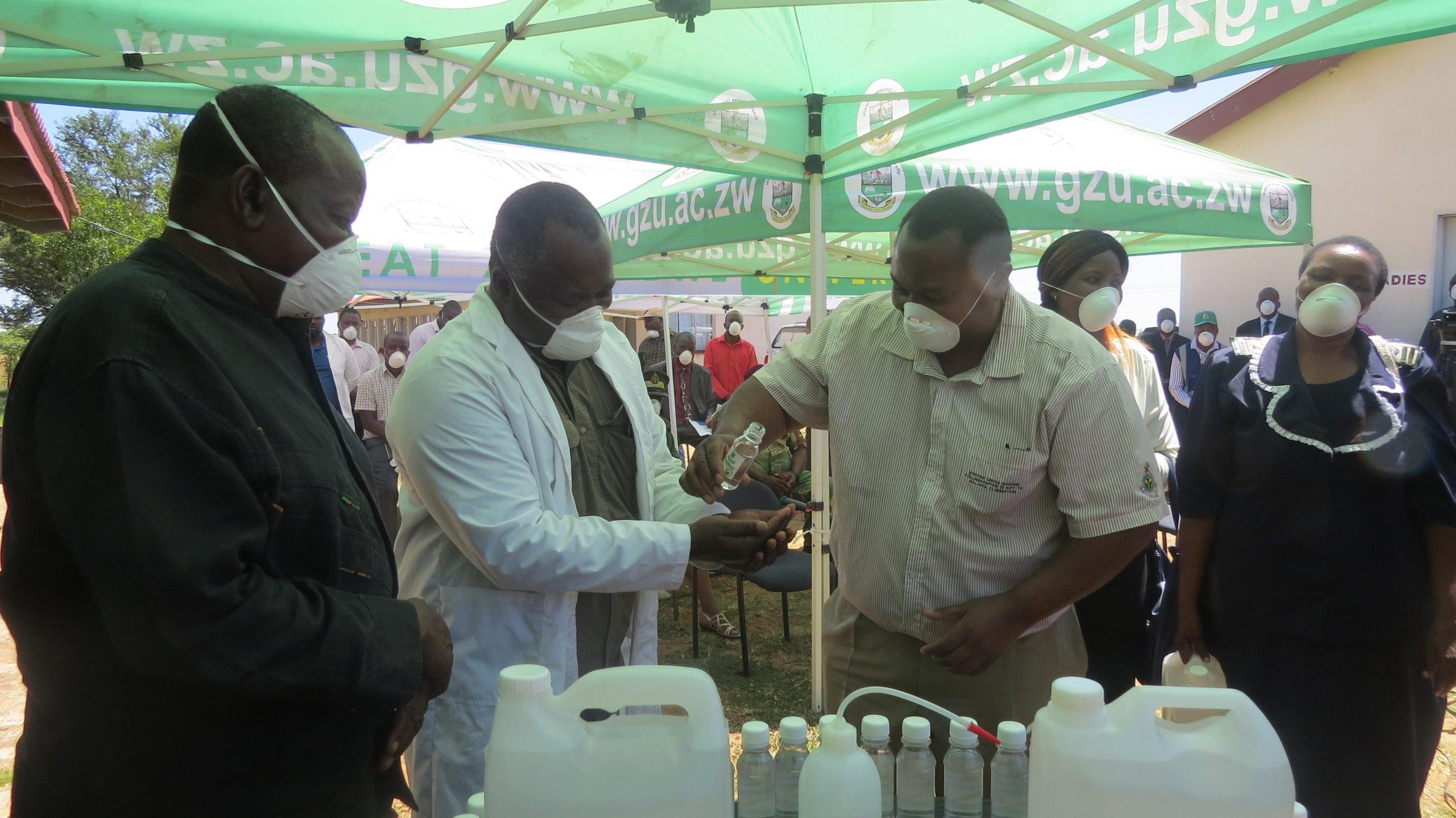 Coronavirus: Zimbabwe universities making face masks, gloves