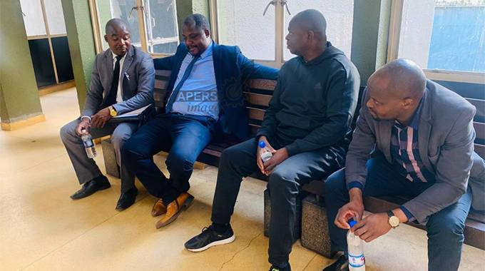 JUST IN: RBZ officials in court