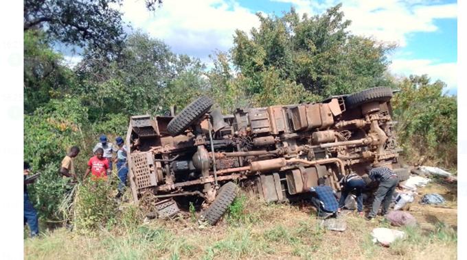 One dies as army truck veers off road