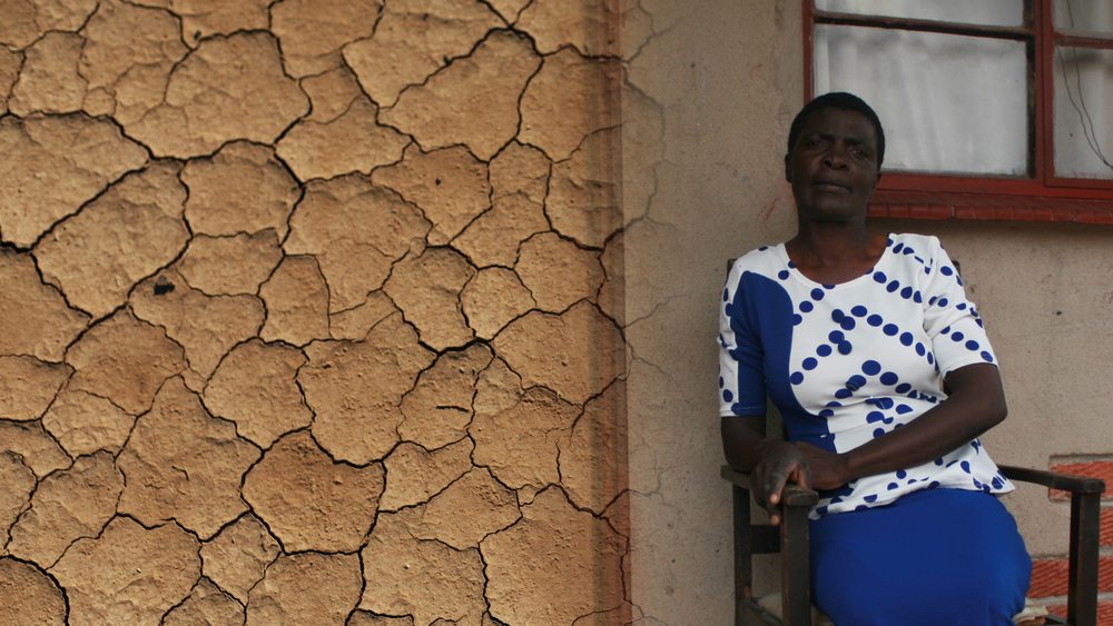 Portrait of Loveness January in Zimbabwe
