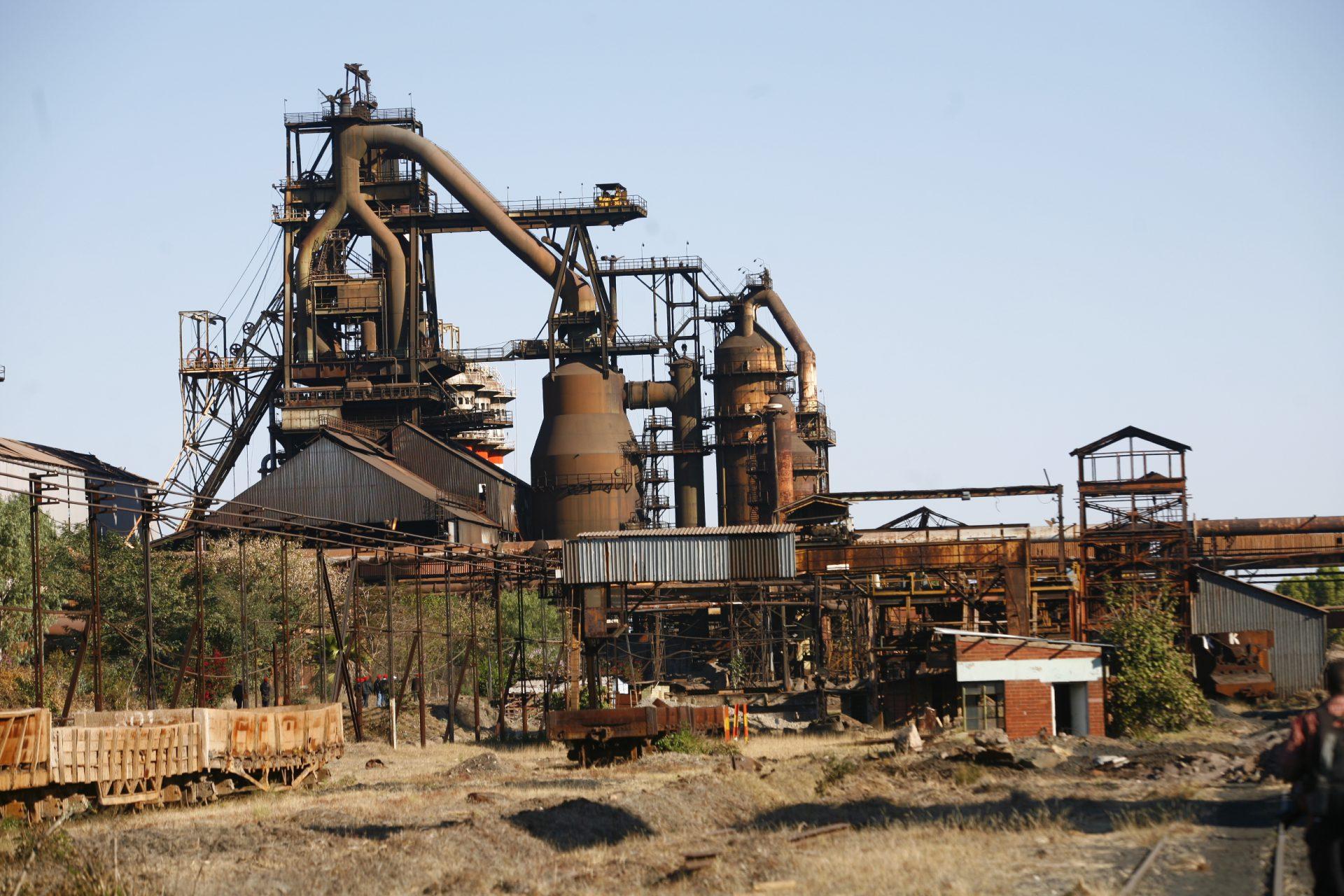 Currently defunct Zimbabwean Ziscosteel plant