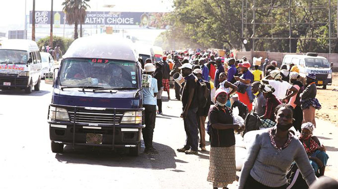 Banned kombis, taxis break lockdown rules