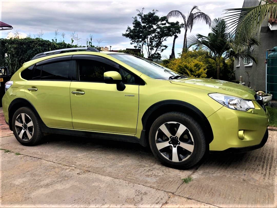 Images: A 2015 Subaru Crosstrek ordered online from IBC Japan and delivered to Harare Zimbabwe. Picture by Gladys Mukwazhi