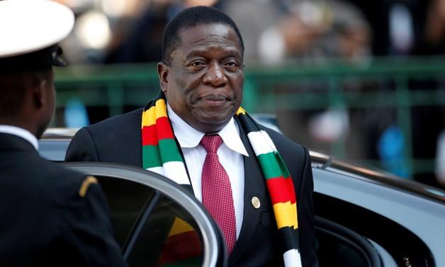 FILE - Zimbabwe's President Emmerson Mnangagwa/Reuters
