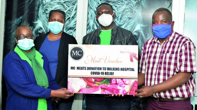 Meat boost for Wilkins hospital