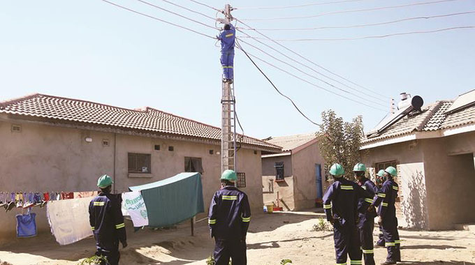 Zesa switches off illegal power connections