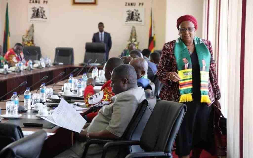 PICTURES: Mupfumira kicked out of Zanu PF Politburo | ZIM LATEST ...