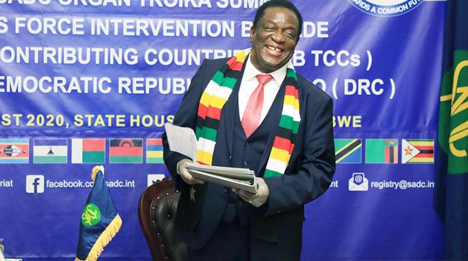 Sadc seeks lasting peace for DRC