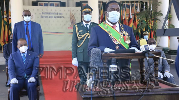 JUST IN: Let's remain resolute — President