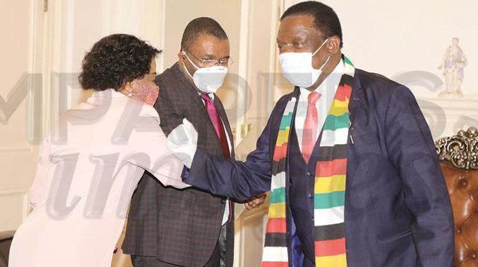 SA envoys get down to work