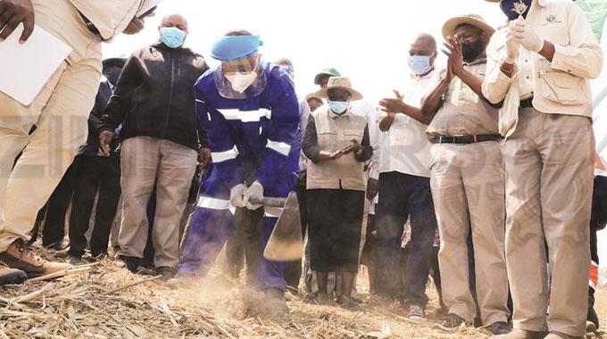 Targets set for Pfumvudza farmers