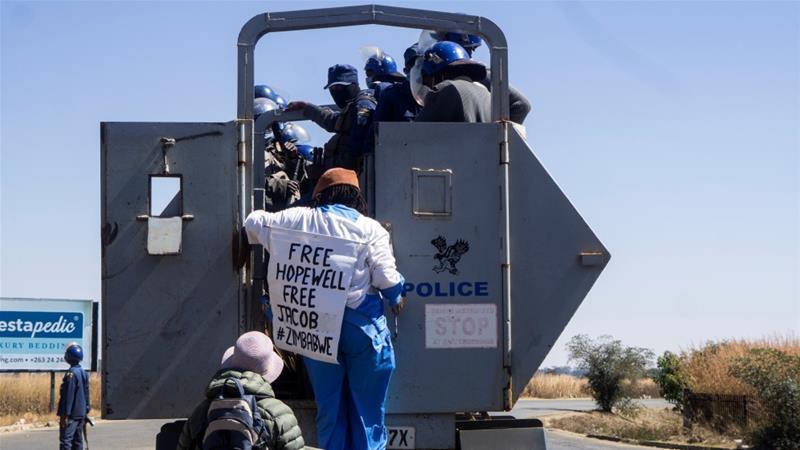 Zimbabwean author Tsitsi Dangarembga released on bail