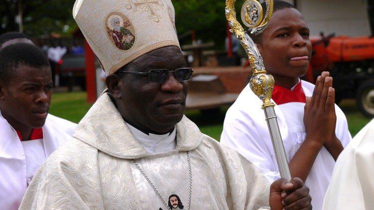 2020.02.10 Arcivescovo Robert Ndlovu of Harare, Zimbabwe