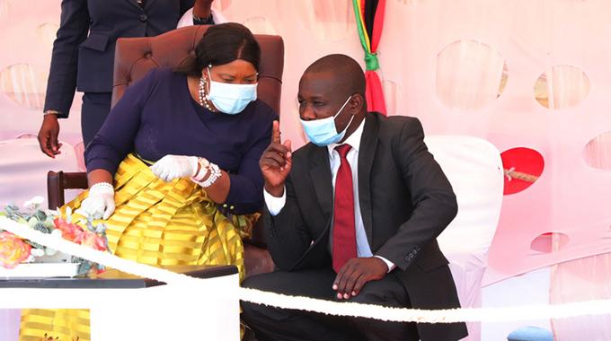 First Lady takes Covid-19 awareness to Budiriro